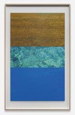 Slater Bradley- Aegean Shield, 2018, Pennarello e750 su stampa digitale, cm 168,5x104