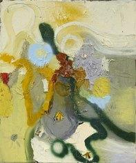 Daniel Richter, Senza titolo, 1995, olio su tela, 60 x 50 cm. Foto: Simon Voge © 2021, ProLitteris, Zurich