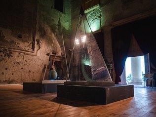 Domenico Scolaro. Geometrie - Forme di Vita - Plexiglass, inox