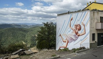 A SUD Travel porta al TTG di Rimini le grandi opere di street art del borgo di Stigliano