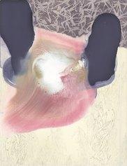 Elisa Bertaglia, Brambles, 2020, olio, carboncino, grafite su carta, cm 30,5x23