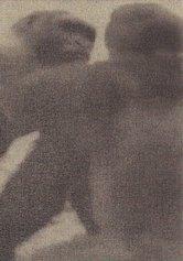 Ettore Pinelli, Supremacy version (serie di 6 elementi), fusaggine su tela applicata su pannello, cm 21x15, 2018