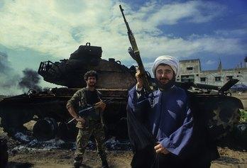 FRANCESCO CITO© 1984, Lebanon, Beirut a Mullah