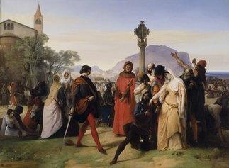 Francesco Hayez_I Vespri siciliani © Galleria Nazionale d'arte Moderna e Contemporanea, Roma
