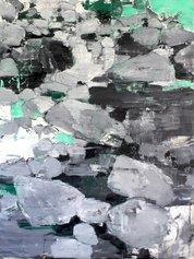 Giovanni Frangi, Piedicavallo 1, 2021, olio su tela, cm 195x146