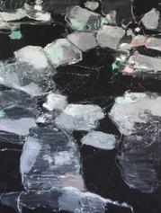 Giovanni Frangi, Piedicavallo 3, 2021, olio su tela, cm 160x120