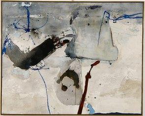 Giuseppe Santomaso, Suite friulana n.11, 1964, olio e encausto su tela, 130x162cm