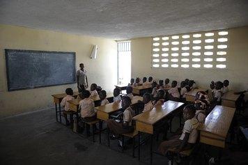 Haiti. Scuola di strada NPH, ph Stefano Guindani