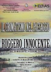 Il cromatismo nel paesaggio mostra personale di Ruggero Innocente