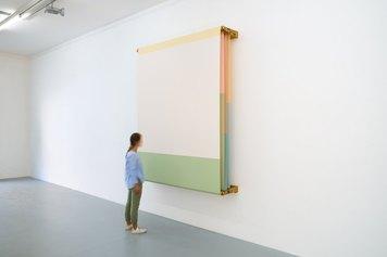 Installation view of Alberto Garutti, Accedere al presente, 2021,  Ph. Petrò-Gilberti