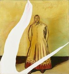 Julian Schnabel, Portrait of Albert Oehlen, 1997, olio, cera, resina e vernice su tela, 273 x 258 x 12.5 cm. Foto: def image © Julian Schnabel / 2021, ProLitteris, Zurich