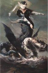 La donna che cavalca il drago. Omaggio a Charles Lepec