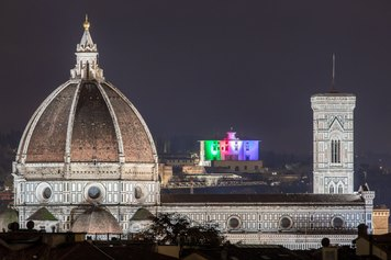 Sight, dalla selva oscura alla luce - Firenze Light Festival 2020 - ©NicolaNeri