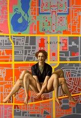 Paola Gandolfi, Machine Spider, olio su tela, 2005
