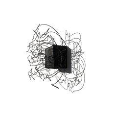 Pulcinelli Rudy, RISVEGLI 2, 2021, legno combusto, filo di ferro cotto e acciaio, 42x34x26 cm