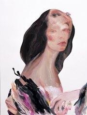 Rachele Moscatelli, 70x50 cm, 2019, mista su carta