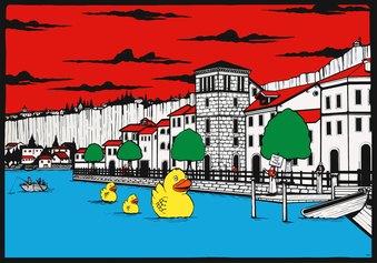 Riccardo Corciolani, Save the Tower, Torre casaforte - Pella