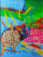 Virus, 2009 - 60x80 (RosaE)